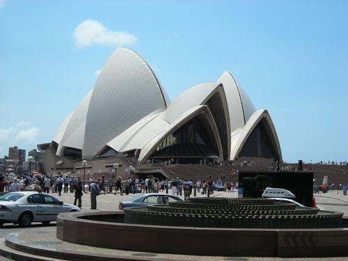 オペラハウスの外観