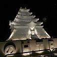 鶴ヶ娍の大雪像