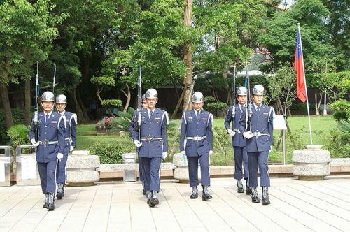 衛兵の交替式