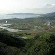 石垣島アンパル方面遠望