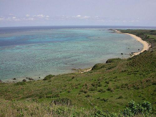 石垣島北部の海